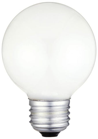 Westinghouse 0382800 40 Watt G19 1/2 Incandescent Vibration Resistant Light Bulb