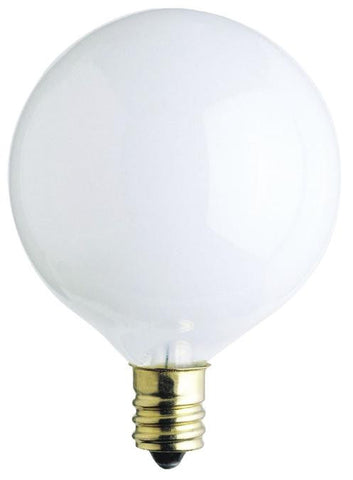 Westinghouse 0384000 60 Watt G16 1/2 Incandescent Light Bulb