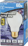 60 Watt A19 Toughshell® Incandescent Light Bulb