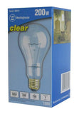 200 Watt A23 Incandescent Light Bulb