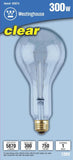 300 Watt PS30 Incandescent Light Bulb