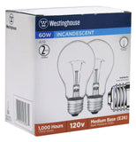 60 Watt A19 Incandescent Vibration Resistant Light Bulb