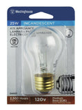 25 Watt A15 Incandescent Appliance Light Bulb