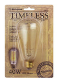 40 Watt ST20 Timeless Vintage Inspired Bulb