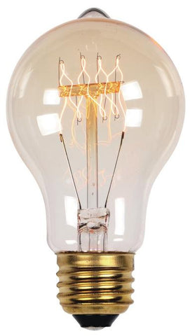Westinghouse 0413400 40 Watt A Shape Timeless Vintage Inspired Bulb