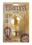40 Watt A Shape Timeless Vintage Inspired Bulb