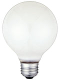 Westinghouse 0422300 60 Watt G25 Incandescent Vibration Resistant Light Bulb