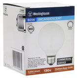 60 Watt G25 Incandescent Vibration Resistant Light Bulb