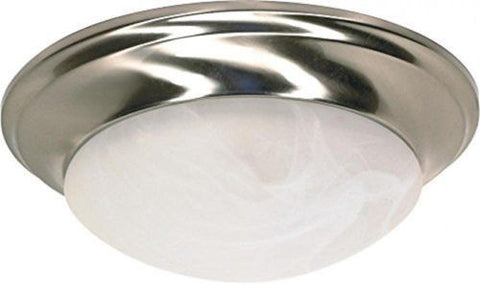 Nuvo 60-283 - Small Dome Twist & Lock Flush Mount Ceiling Light