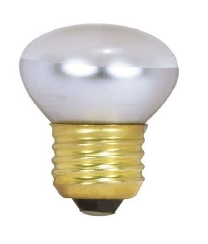 Satco 3602 - 40 watt R14 Stubby Incandescent Clear Medium base; 120 volts