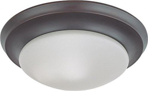 Nuvo 60-3175 - Twist & Lock Dome Small Flush Mount Ceiling Light