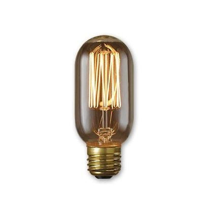 Bulbrite 134015 Incandescent Nostalgic T14 Light Bulb 40 Watt Medium Base