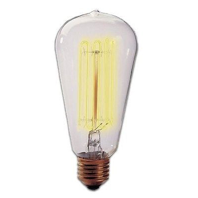 Bulbrite 134019 NOS40-1910 40 Watt Antique Nostalgic Thread ST18 Medium Base