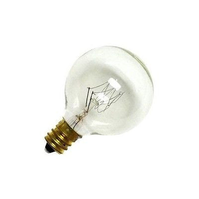 Bulbrite 301040 Clear G12 Candelabra (E12) base 40 Watt 130 Volt Warm White