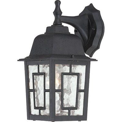 "Nuvo 60-4923 - 12"" Outside Wall Lights in Textured Black Finish"