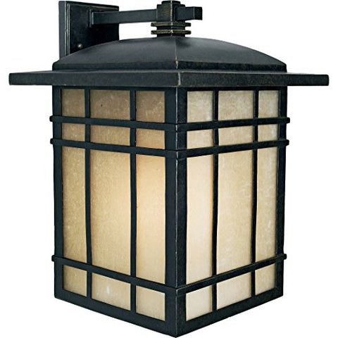 HC8513IBFL 1 Light Wall Hillcrest Outdoor Lantern in Imperial Bronze