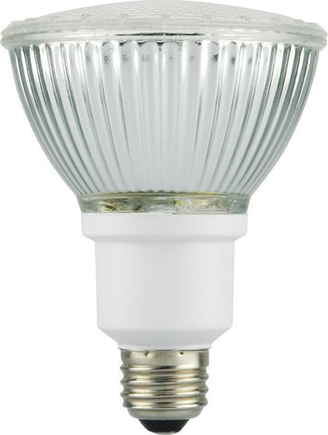 15 Watt PAR30 CFL Glass Reflector Light Bulb - Lighting Supply Group