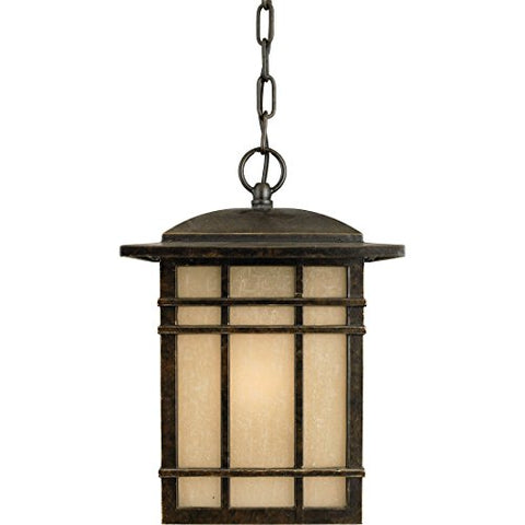 HC1909IBFL 1 Light Hanging Hillcrest Outdoor Lantern in Imperial Bronze