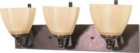 "Nuvo 60-061 - 22"" Copper Bronze Wall Mounted Vanity Light Fixture"
