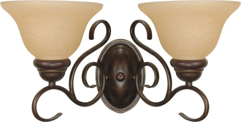 Nuvo 60-1031 - Wall Mounted Vanity Light Fixture in Sonoma Bronze