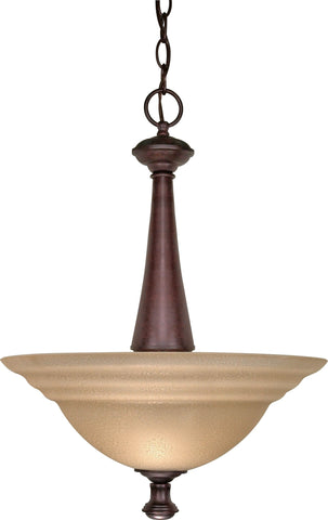 "Nuvo 60-104 - 16"" Hanging Pendant Light Fixture in Old Bronze Finish"
