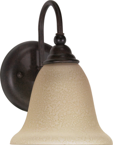 "Nuvo 60-107 - 7"" Wall Mounted Vanity Light Fixture in Old Bronze Finish"