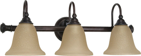 "Nuvo 60-109 - 24"" Wall Mounted Vanity Light Fixture in Old Bronze Finish"