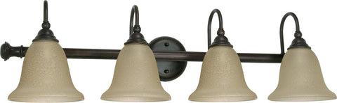 "Nuvo 60-110 - 32"" Wall Mounted Vanity Light Fixture in Old Bronze Finish"