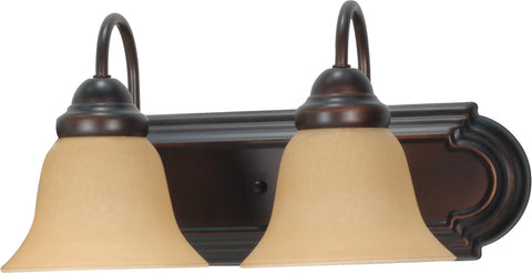Nuvo 60-1264 - Wall Mounted Vanity Light Bar in Mahogany Bronze Finish