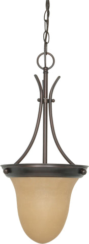 Nuvo 60-1278 - Hanging Pendant Light Fixture in Mahogany Bronze Finish