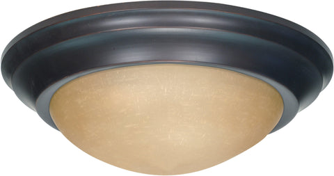 Nuvo 60-1283 - Large Twist & Lock Flush Mount Ceiling Light Fixture