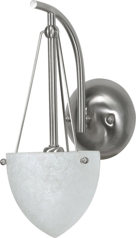 "Nuvo 60-134 - 6"" Wall Mounted Vanity Fixture in Brushed Nickel Finish"