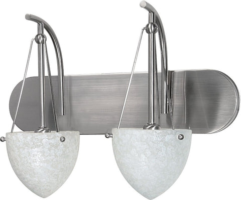 "Nuvo 60-135 - 18"" Wall Mounted Vanity Fixture in Brushed Nickel Finish"
