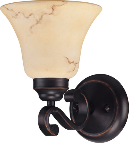 Nuvo 60-1412 - Wall Mounted Vanity Light in Copper Espresso Finish