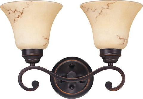 Nuvo 60-1413 - Wall Mounted Vanity Light in Copper Espresso Finish