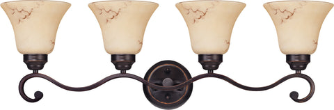Nuvo 60-1415 - Wall Mounted Vanity Light in Copper Espresso Finish