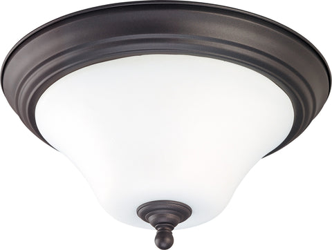 Nuvo 60-1845 - Medium Dome Flush Mount Lighting Fixture in Dark Chocolate Bronze