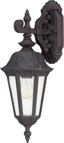 Nuvo 60-2036 - Small Outdoor Wall Lantern (Arm Down)