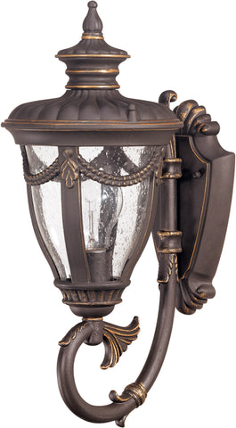 Nuvo 60-2045 - Small Outdoor Wall Lantern (Arm Up)