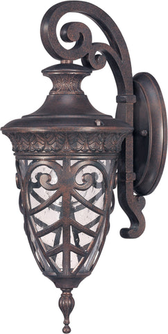 Nuvo 60-2056 - Small Outdoor Wall Lantern (Arm Down)