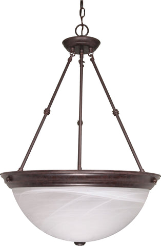 "Nuvo 60-212 - 20"" Hanging Pendant Light Fixture in Old Bronze Finish"