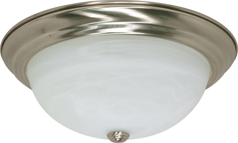 Nuvo 60-2623 - Flush Mount Ceiling Light in Brushed Nickel Finish