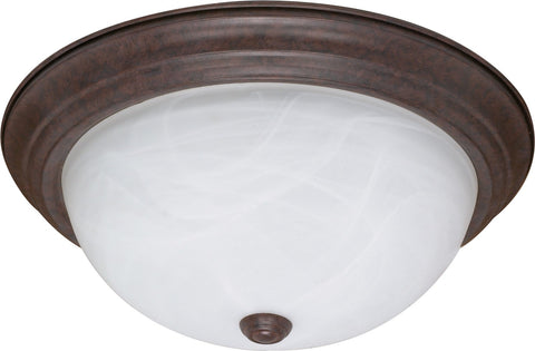 Nuvo 60-2627 - Flush Mount Ceiling Light in Old Bronze Finish