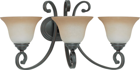 Nuvo 60-2757 - Vanity Fixture in Sudbury Bronze Finish