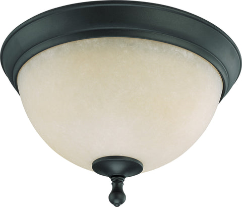 Nuvo 60-2792 - Medium Flush Mount Ceiling Light in Aged Bronze Finish