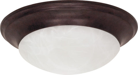 Nuvo 60-280 - Small Dome Twist & Lock Flush Mount Ceiling Light