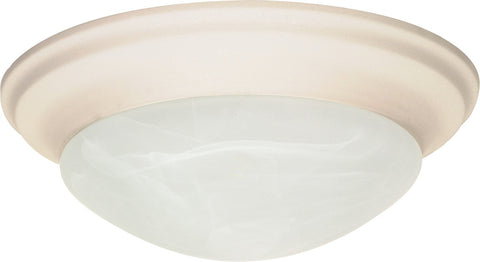 Nuvo 60-286 - Small Dome Twist & Lock Flush Mount Ceiling Light