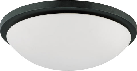 Nuvo 60-2948 - Dome Flush Mount Lighting Fixture in Aged Bronze Finish