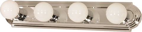 Nuvo 60-297 - Vanity Light Bar Racetrack Style in Polished Chrome Finish