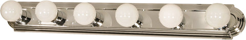 Nuvo 60-298 - Vanity Light Bar Racetrack Style in Polished Chrome Finish